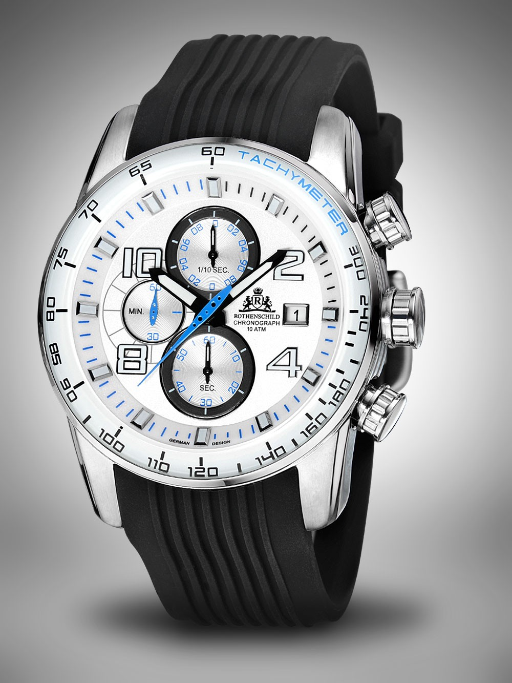 Rothenschild Stream Chronograph RS-1001-BL