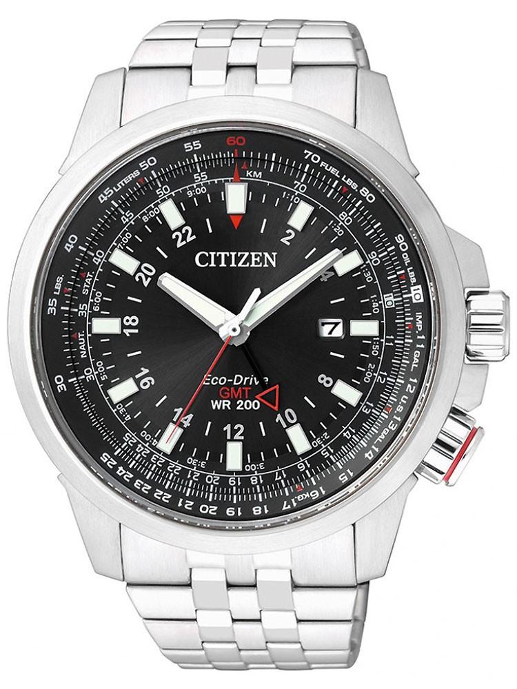 Citizen Eco-Drive Promaster Sky GMT BJ7070-57E 46 mm 200M