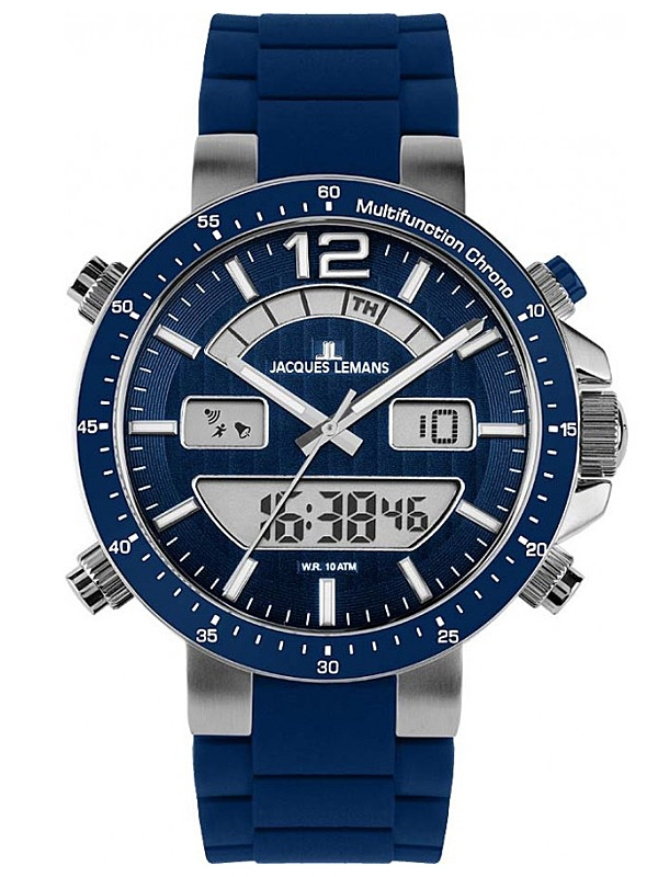 Jacques Lemans Milano 1-1712C Ceas Barbatesc Multifunction