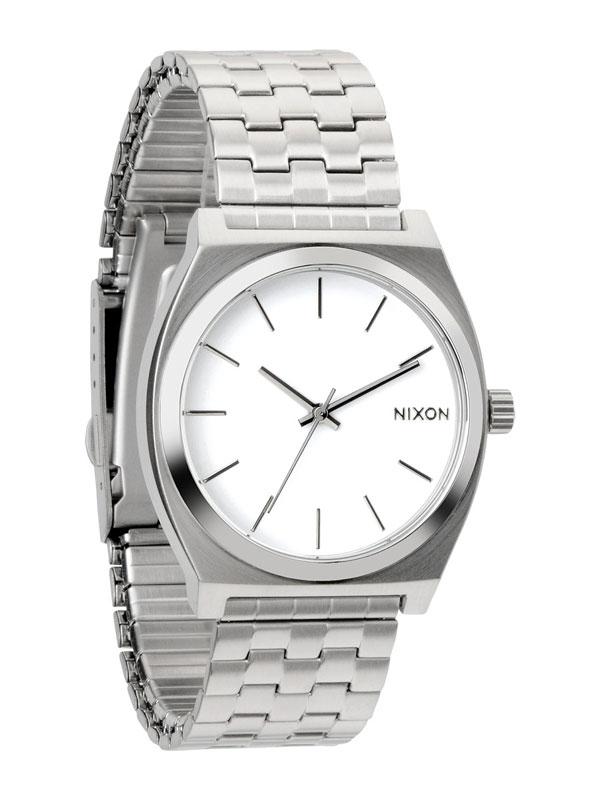 NIXON Time Teller A045-100 Alb Unisex