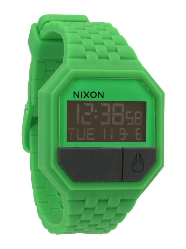 Nixon A-169-330 Rubber Re-Run Green Ceas Barbatesc
