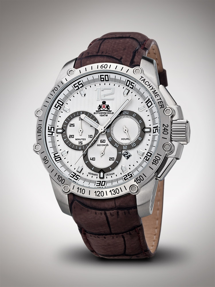 Rothenschild RS-1109-AS-WBR Chronograph