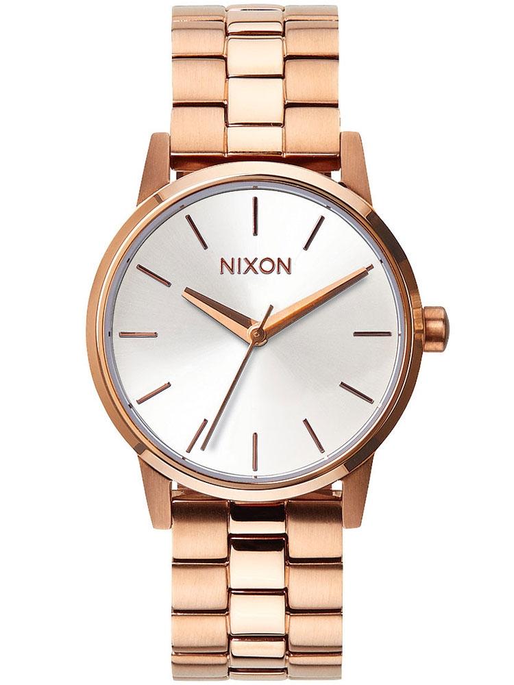 Nixon A361-1045 Small Kensington Rose Gold White 32mm 5ATM