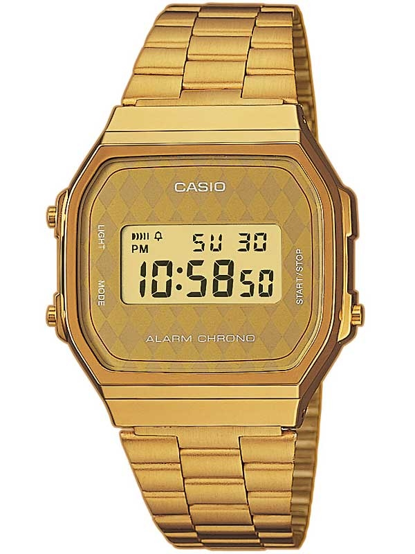 Casio A168WG-9BWEF Collection Herren 35mm 3ATM