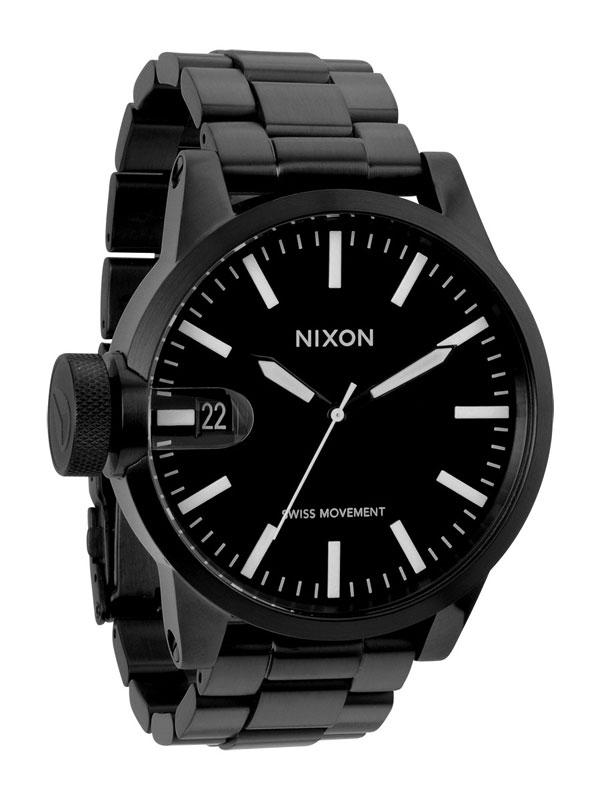 NIXON Chronicle SS A-198-001 All Negru Ceas Barbatesc