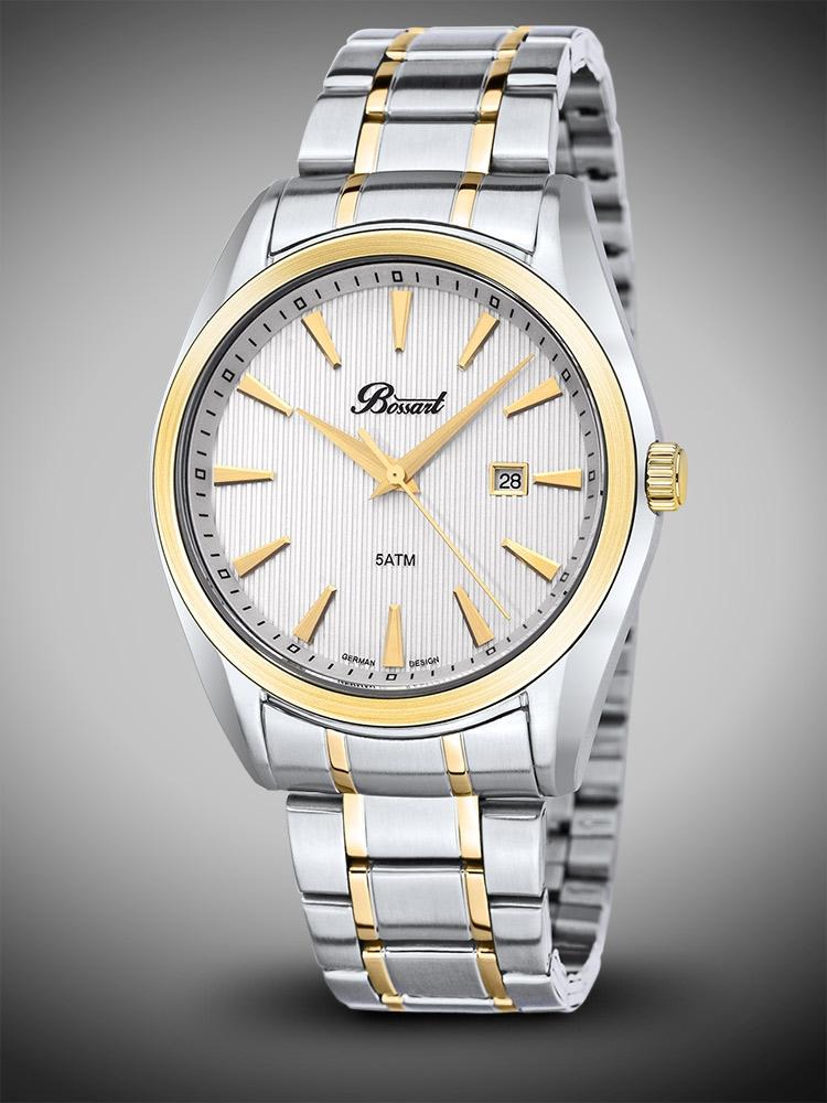 Bossart Pure BW-1311-ASIG-WH-BRC Barbati bicolor 43 mm 5ATM