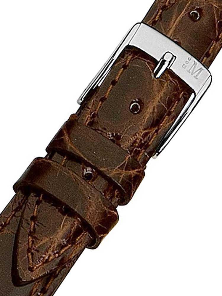 Morellato A01X2197052034CR18 maro Crocodile Curea 18mm