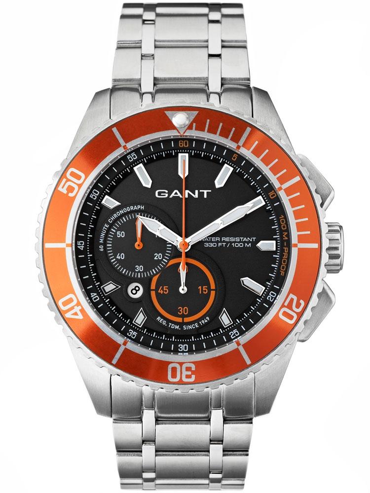 GANT W70542 Seabrook Ceas Barbatesc Chronograph orange 45 mm