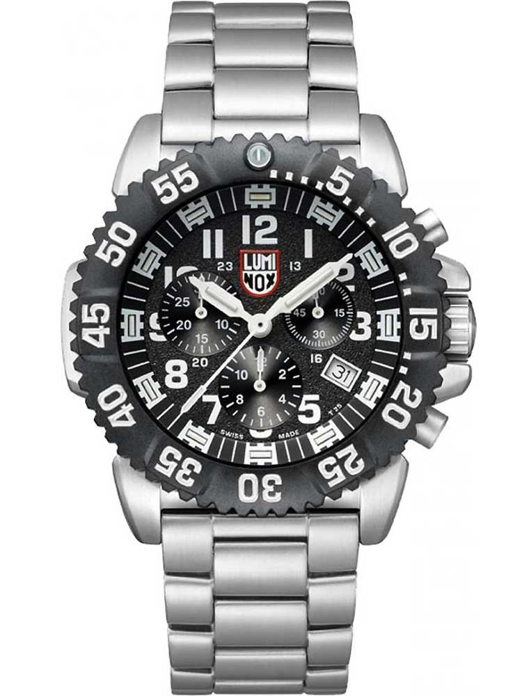 Luminox A.3182 Steel Colormark Chrono 3180 Serie 44mm 200M