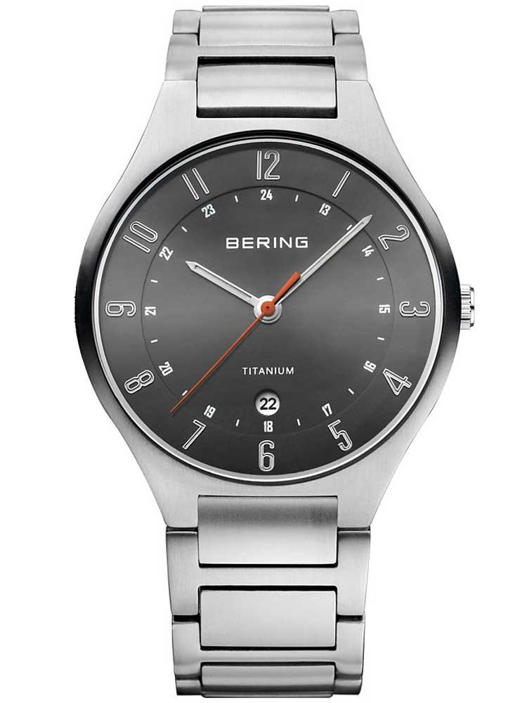 Bering 11739-772 Titanium Herren 39mm 5ATM