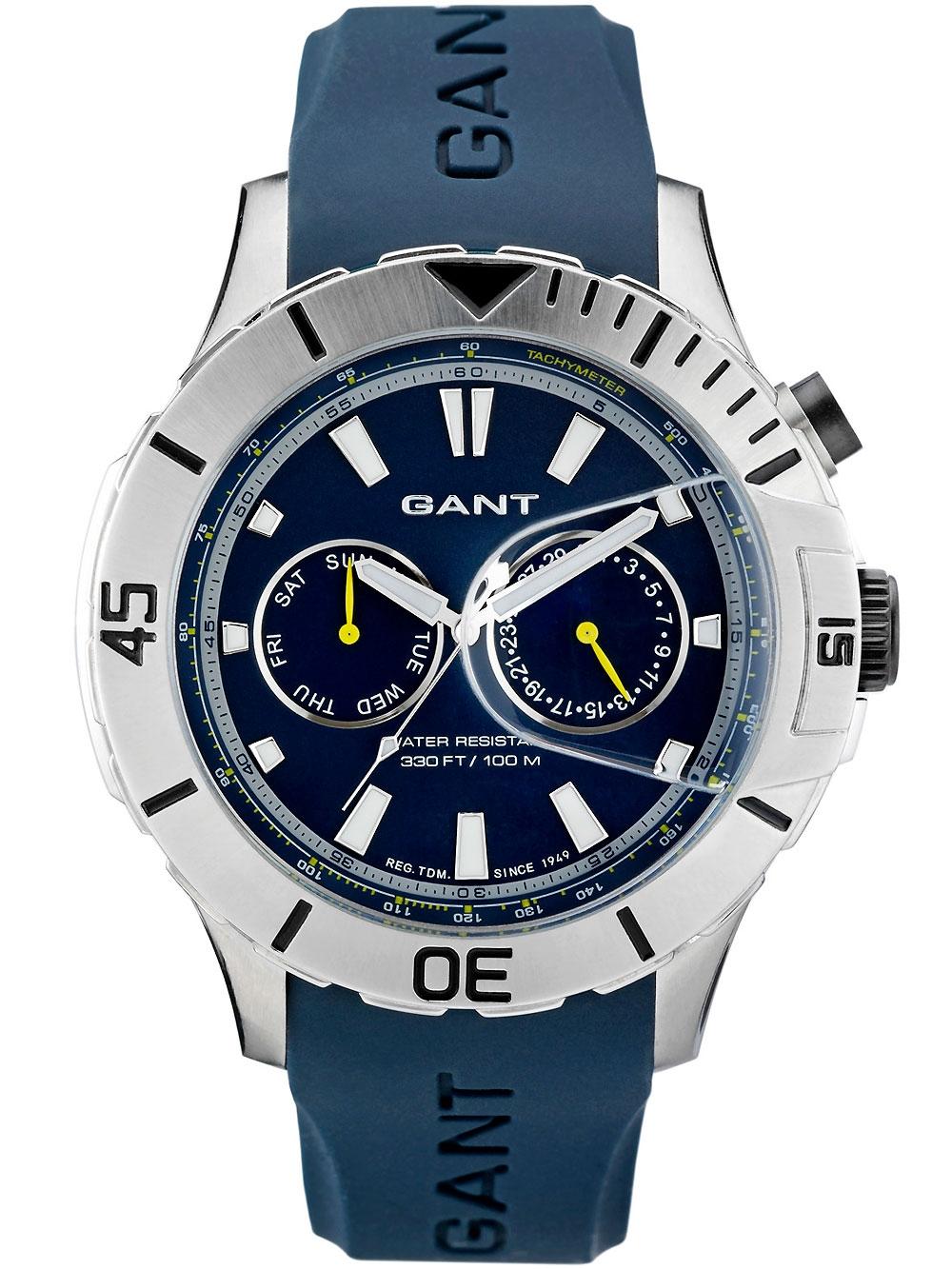 Gant Boston W70623 blau Herren 46 mm 10 ATM