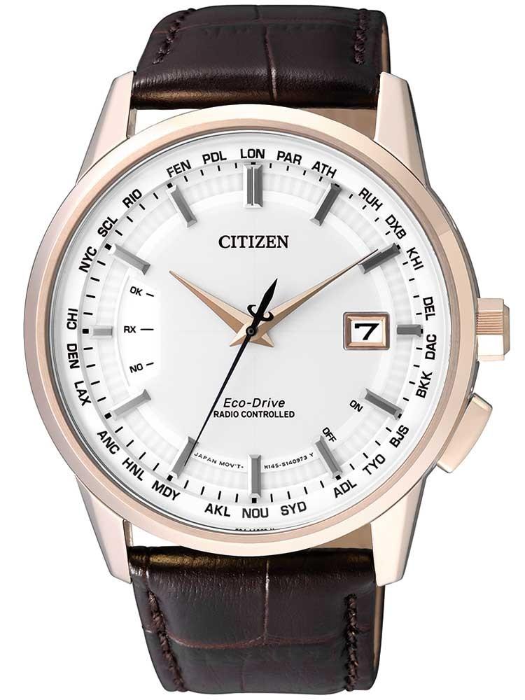 Citizen Eco-Drive Funkuhr Elegant CB0153-21A Herren 43mm 10ATM