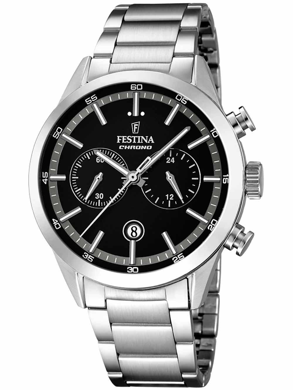 Festina F16826/3 Chronograph Herren 44mm 5ATM
