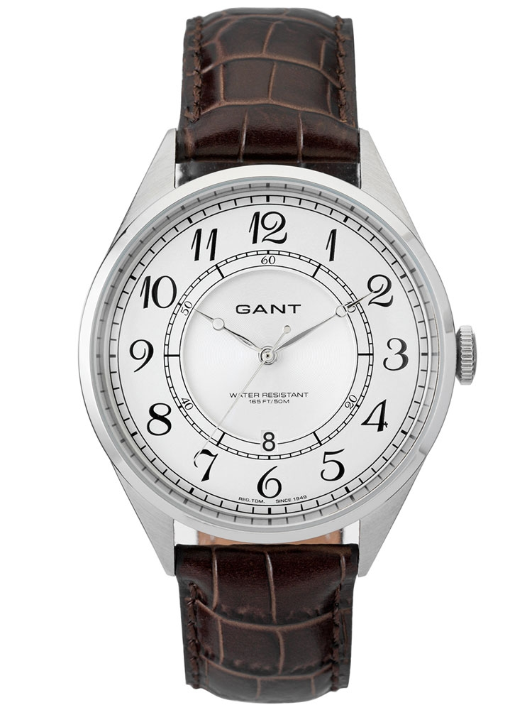 Gant Crofton W70472 Ceas Barbatesc argintiu maro 41 mm