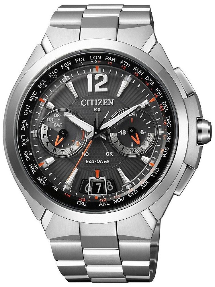 Citizen Eco-Drive Satellite Time System CC1090-52E 48 mm 100M