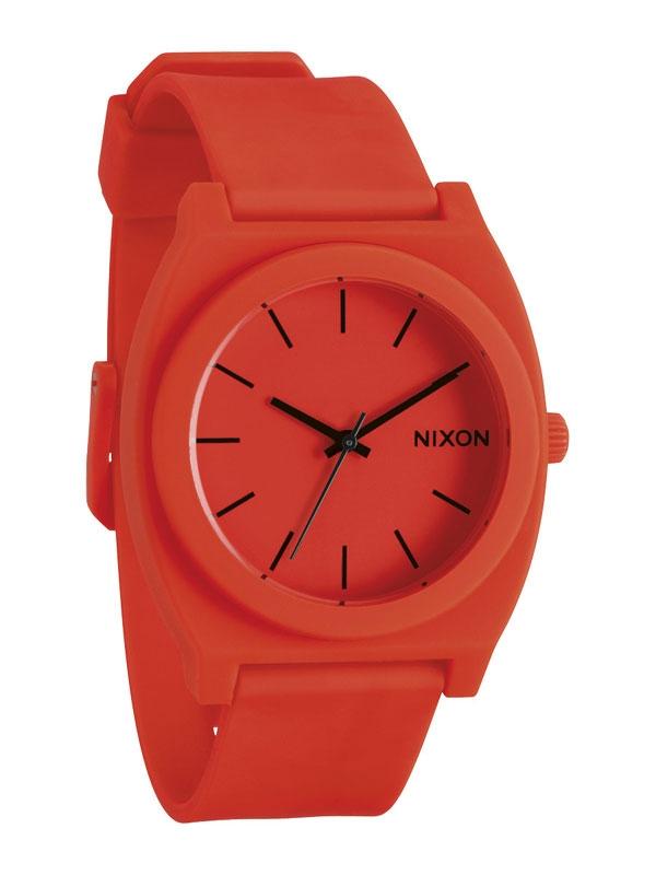 NIXON Time Teller P A119-1156 Neon Orange
