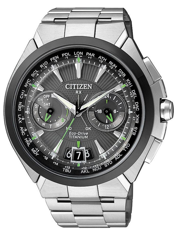 Citizen Eco-Drive Satellite Time System CC1084-55E 48 mm 100M