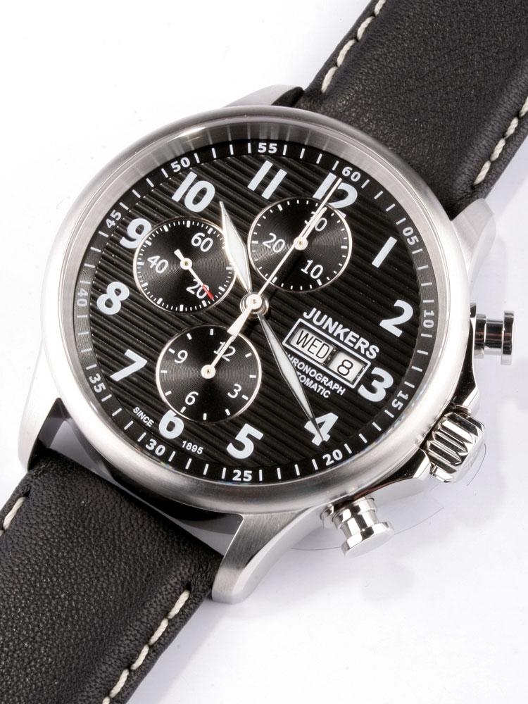 Junkers Tante Ju 6818-2 Automatic Chronograph ETA 7750
