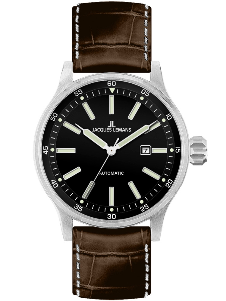 Jacques Lemans 1-1723B Barbati Sport Automatic 48mm 10ATM