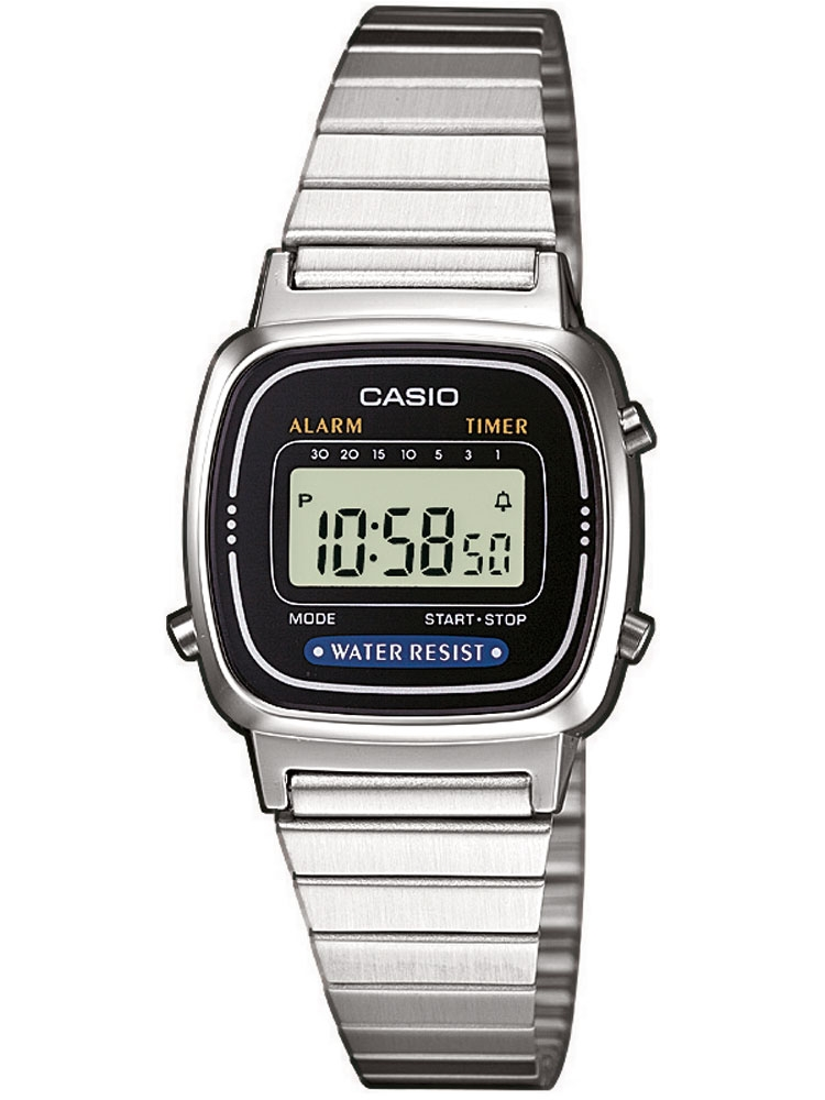Casio LA670WEA-1EF Unisex Colectia Chronograph 3 ATM 24 mm