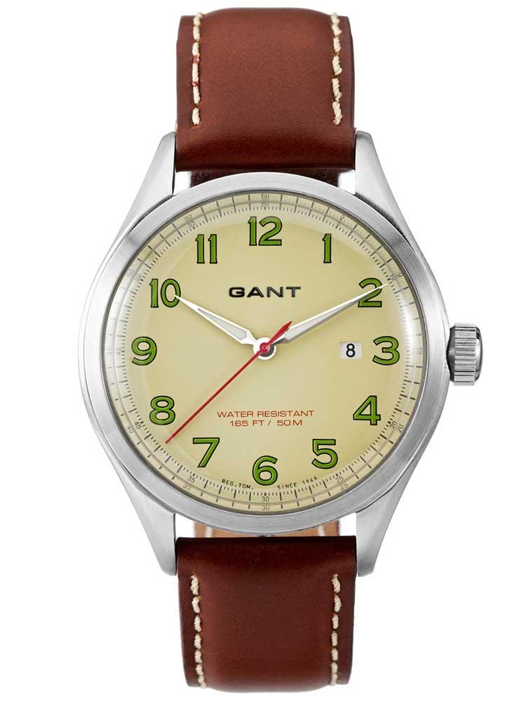Gant Icon W70461 Ceas Barbatesc cu change curea Piele maro + Nylon 42 mm