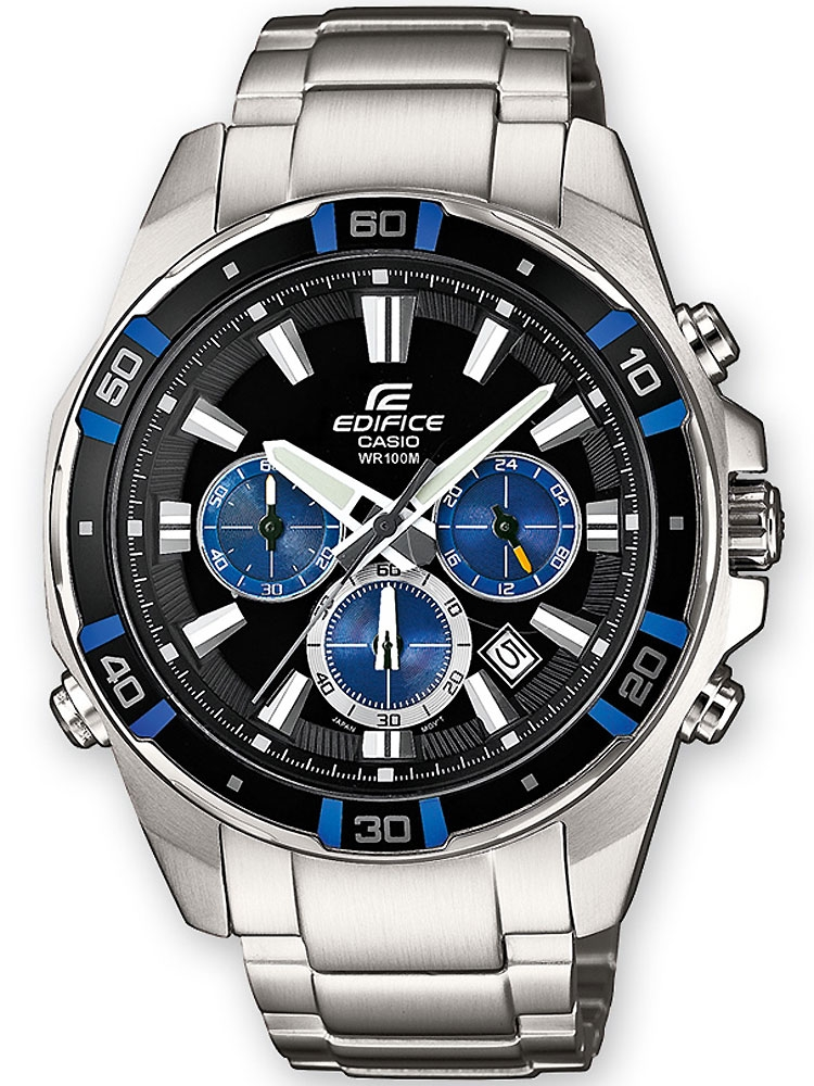 Casio Edifice EFR-534D-1A2VEF Chronograph 10 ATM 46 mm