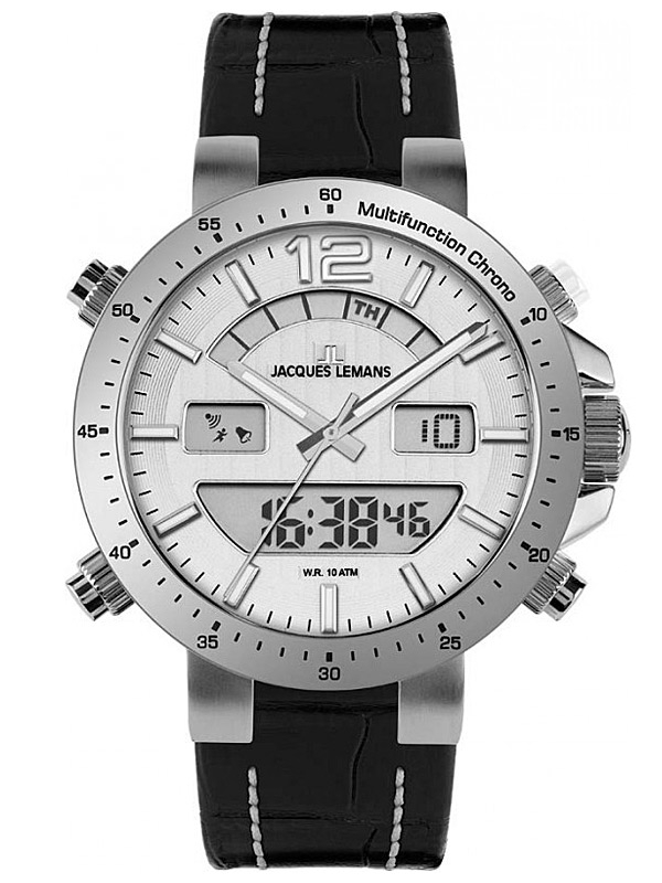 Jacques Lemans Milano 1-1713B Ceas Barbatesc Multifunction