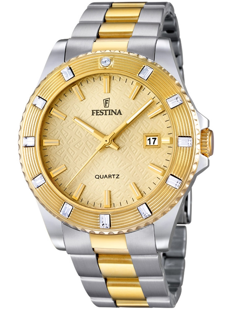 Festina Vendome F16688/2 Femei bicolor 40 mm