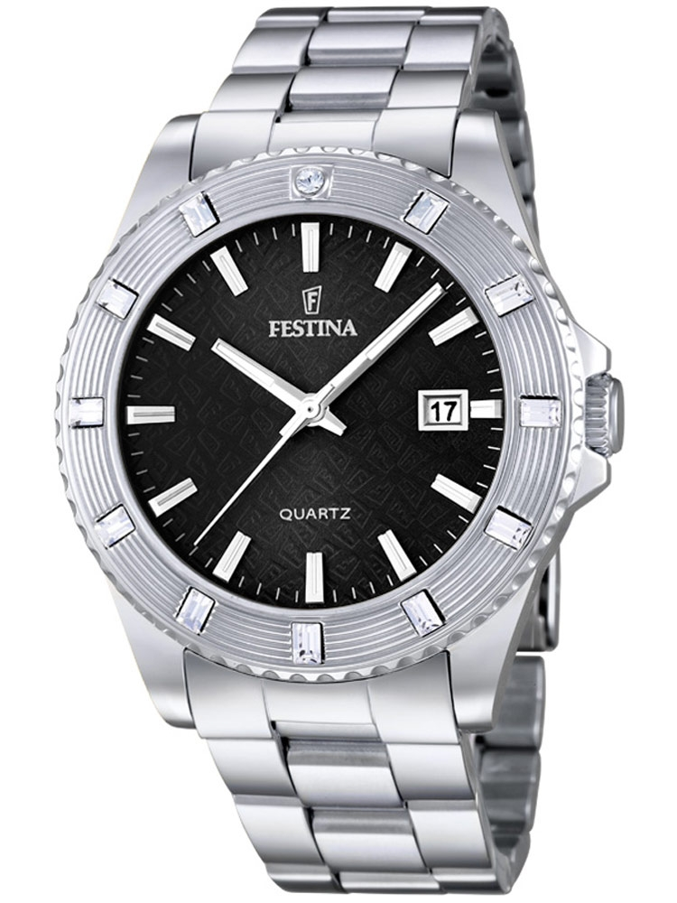 Festina Vendome F16689/5 Femei argintiu 40 mm