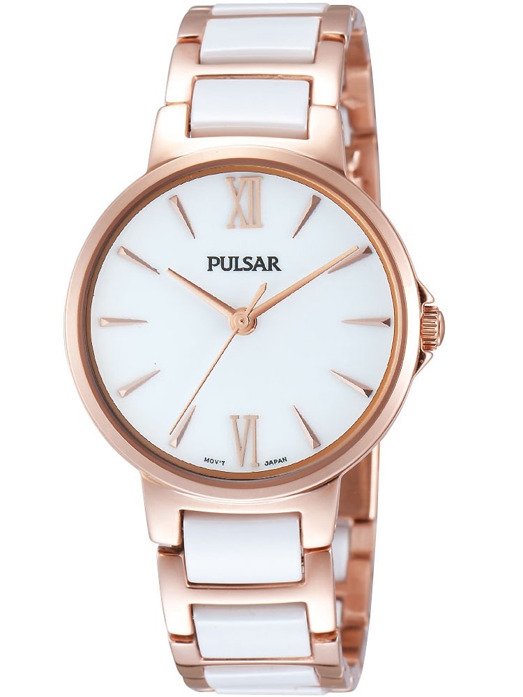 Pulsar PH8078X1 Damen Armbanduhr Keramik 32mm
