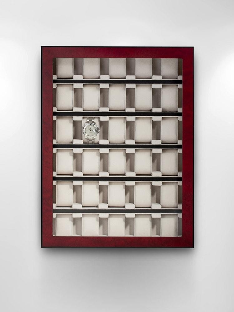 Rothenschild Ceas cutie RS-1100-30BU pentru 30 Ceasuri bubinga