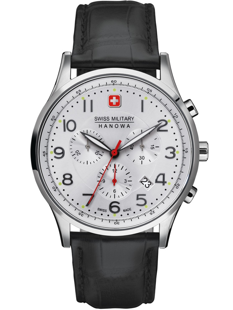 Swiss Military Hanowa Patriot 06-4187.04.001 Ceas Barbatesc Chronograph