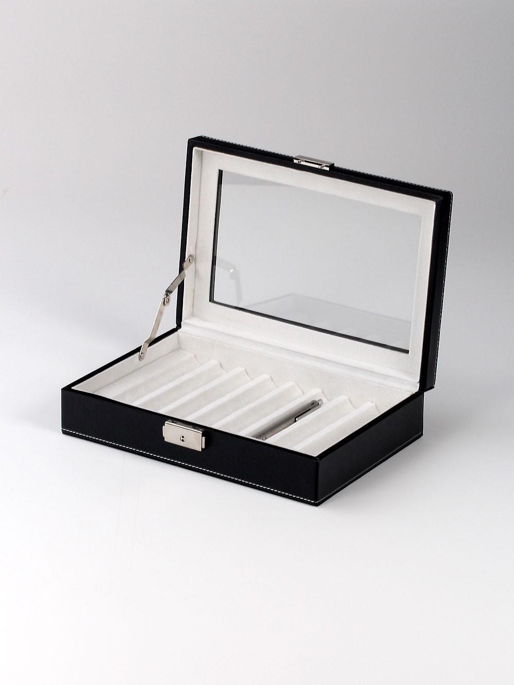 Rothenschild Sammlerbox RS-3010-8BL 8 Fächer black