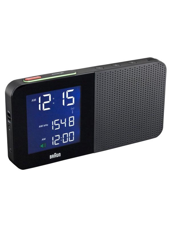 Maro LCD Radio-Radio Alarm Clock BNC010-BL-RC weltw. Receiving - albastru