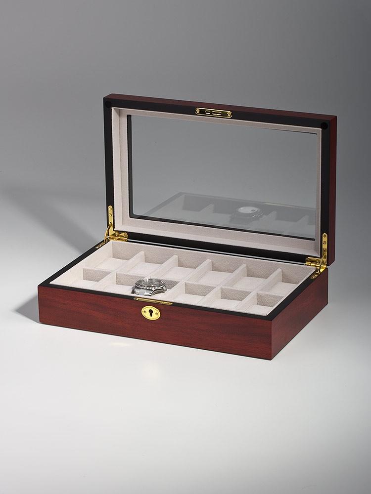 Rothenschild Ceas cutie RS-1087-12C pentru 12 Ceasuri cires