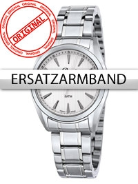 Bossart Curea de rezerva Otel inoxidabil BW-1310 Femei argintiu