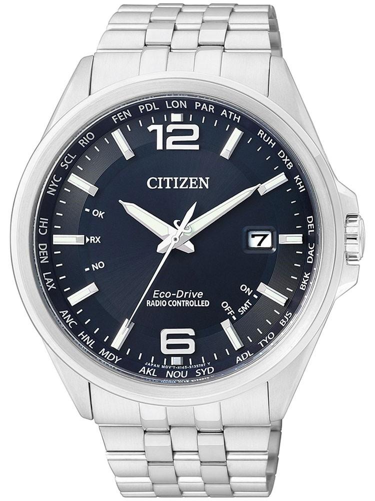 Citizen Eco-Drive Elegant CB0010-88L 4-Zonen Funkuhr 43 mm 100M