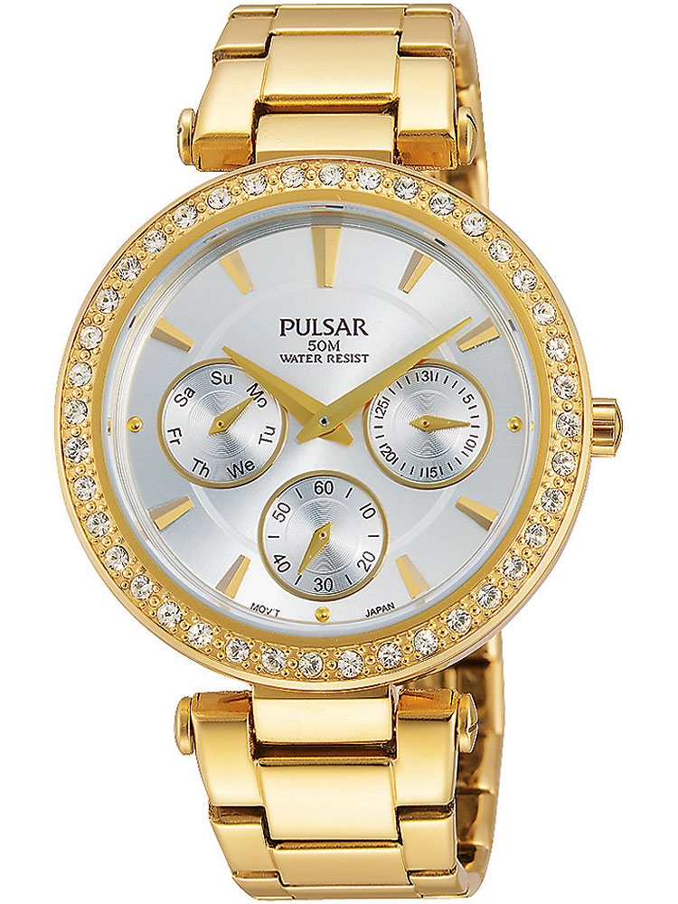 Pulsar PP6160X1 Damen Armbanduhr Multifunktion 36mm