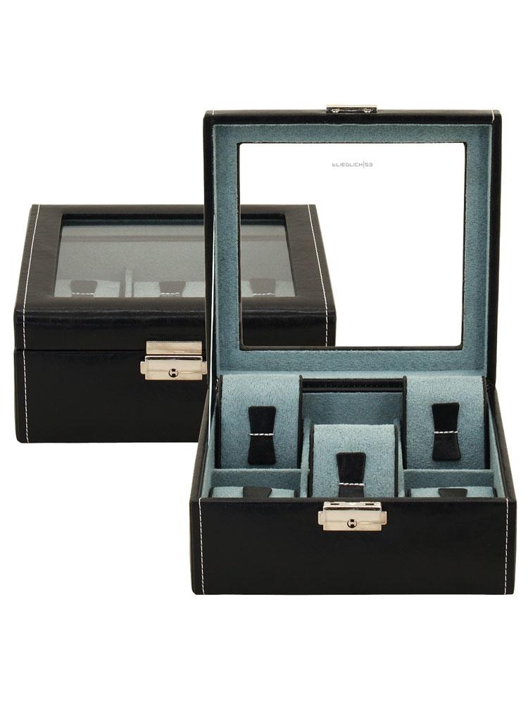 Freidrich|23 Ceas cutie 20085-2 Synthetic f. 6 Ceasuri negru