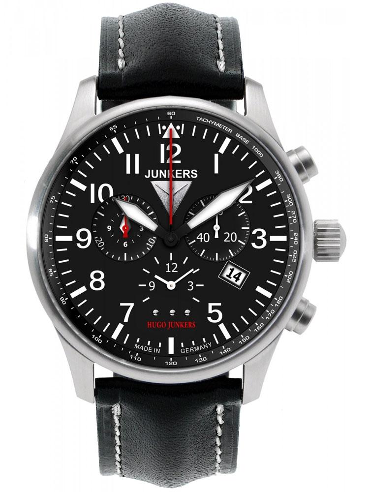 Junkers Hugo 6684-2 Ceas Barbatesc Alarm-Chronograph