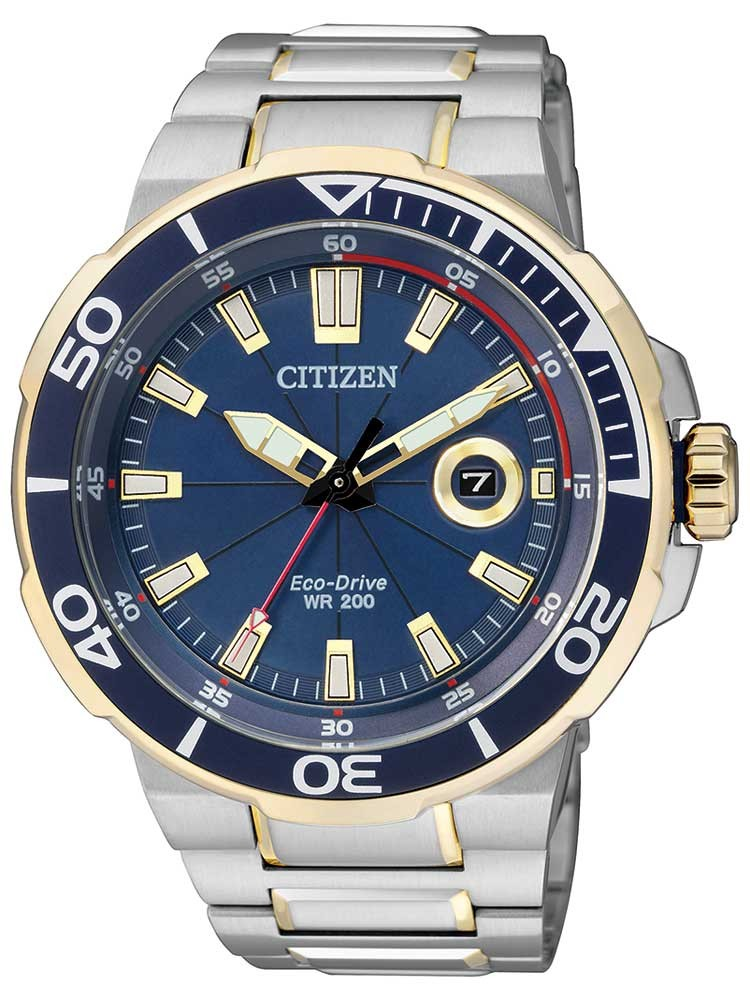 Citizen Eco-Drive Sports AW1424-62L Herren 45mm 20ATM