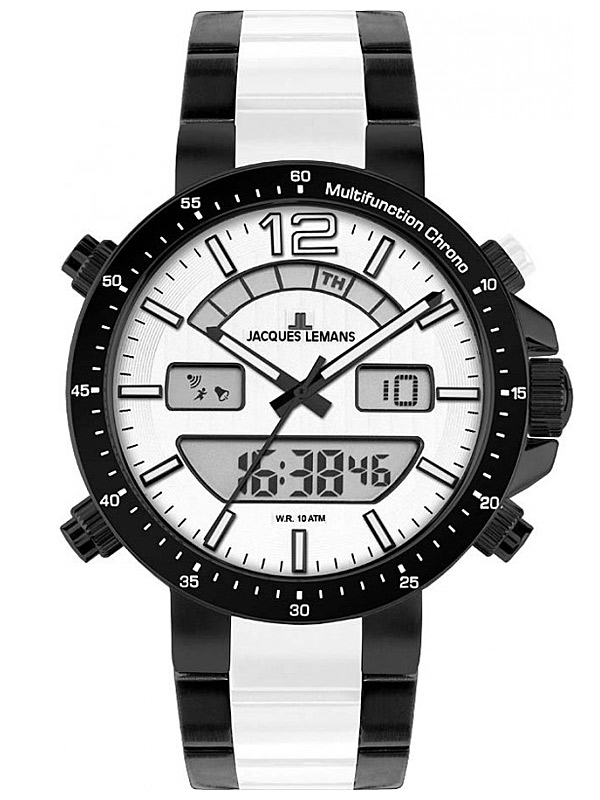 Jacques Lemans Milano 1-1714F Ceas Barbatesc Multifunction