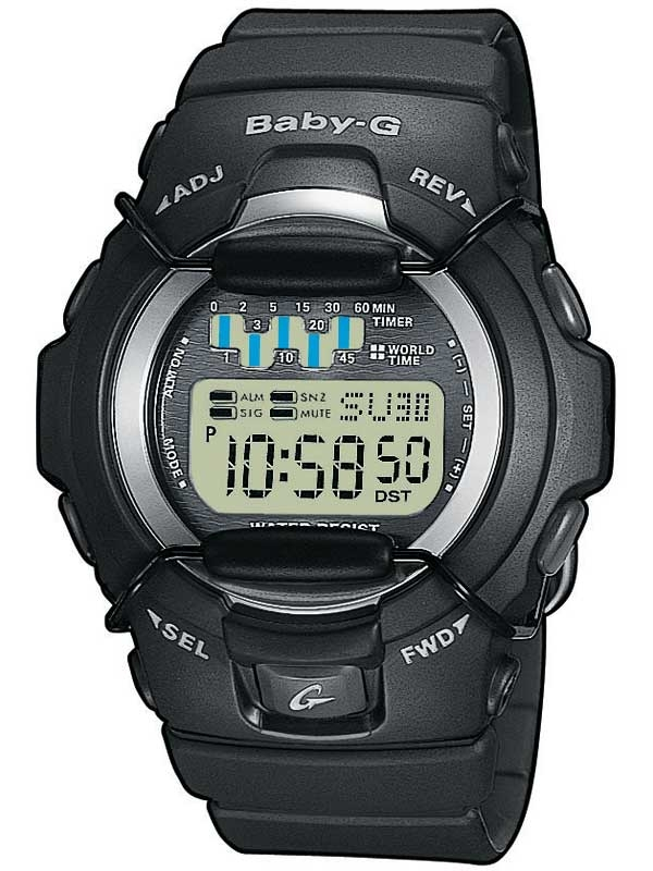 Casio BG-1001-1VER Baby-G Damen 41mm 20ATM