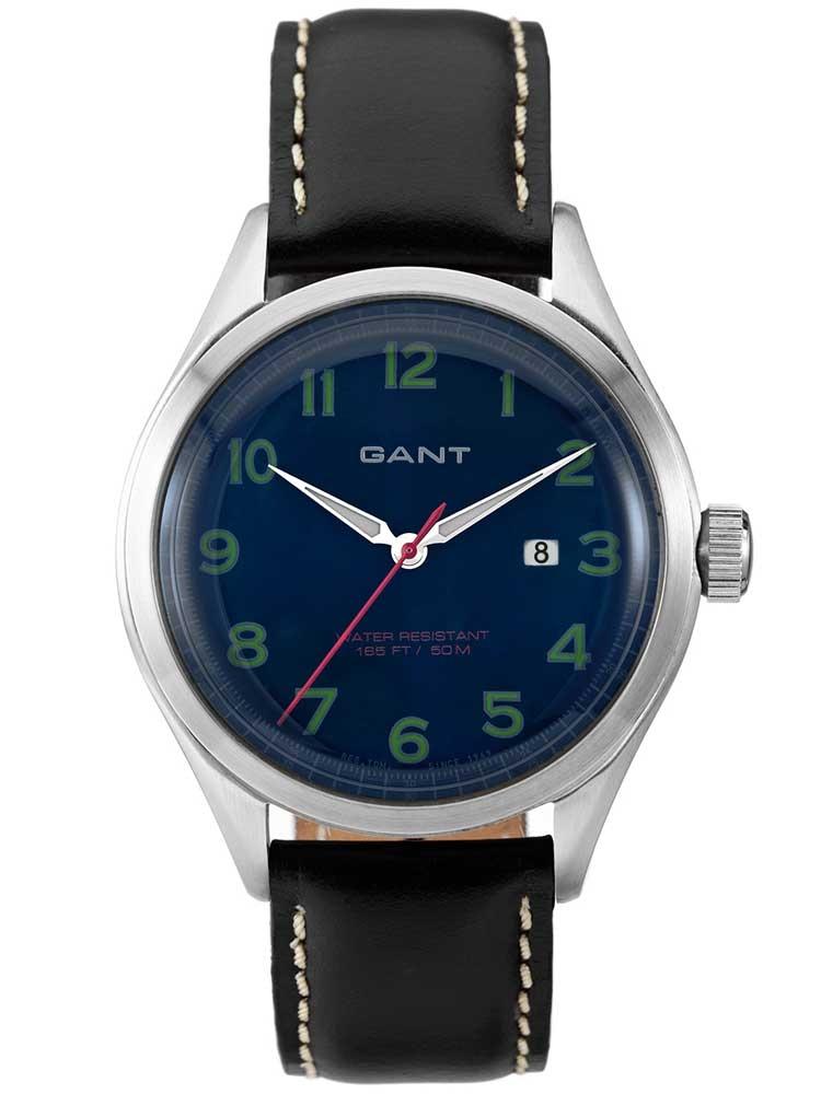 Gant Icon W70462 Ceas Barbatesc cu change curea Piele negru + Nylon 42 mm