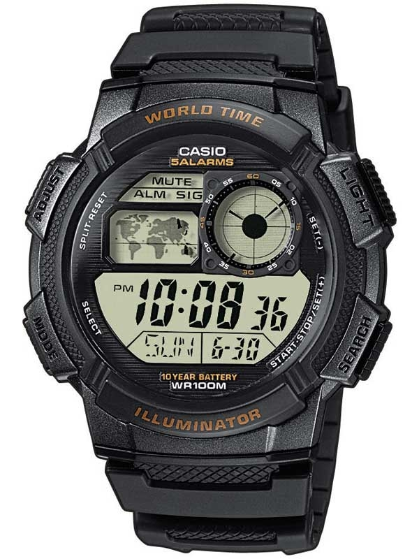 Casio AE-1000W-1AVEF Collection Herren 44mm 10ATM