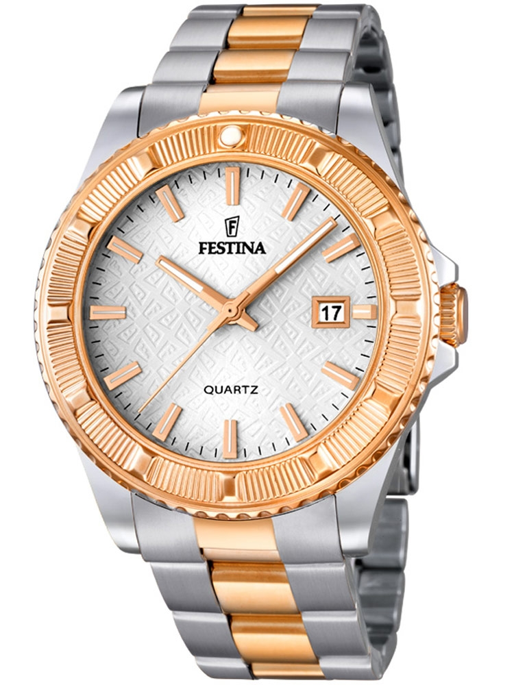 Festina Vendome F16685/1 Femei bicolor 40 mm