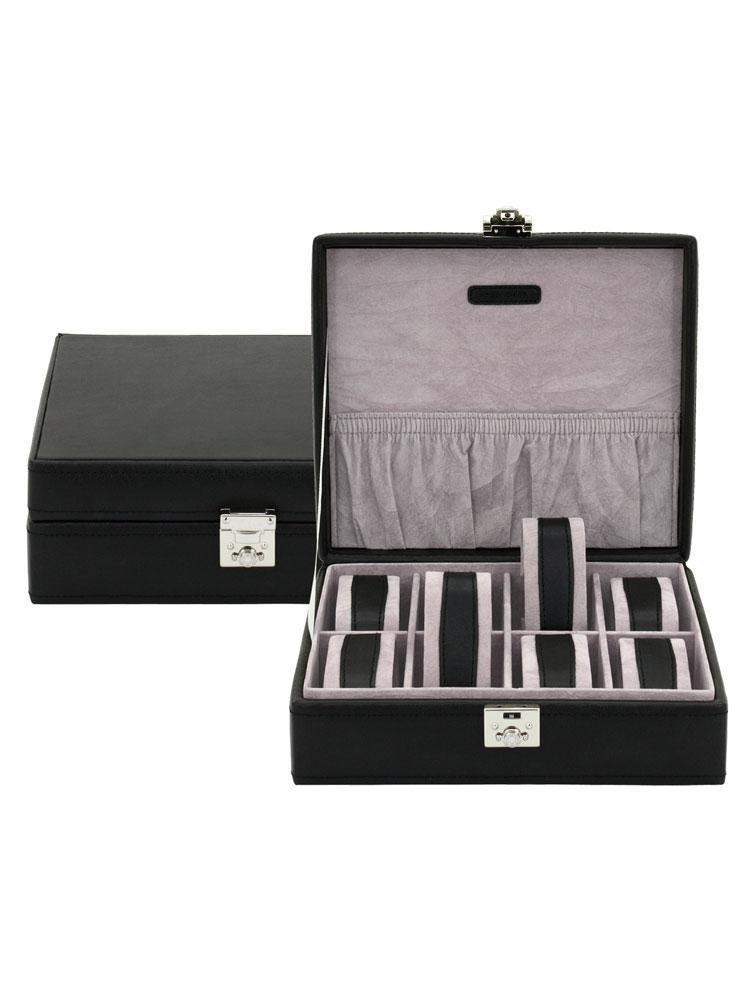 Friedrich|23 Ceas cutie 20546-2 Redford f. 8 Ceasuri negru, gri