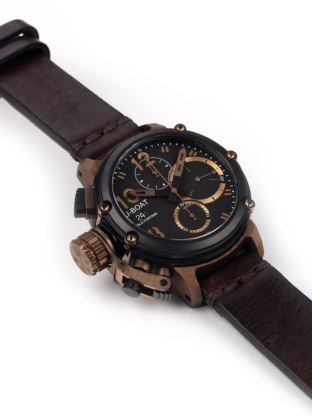 U-Boat 8015 Chimera Bronze B&B Chrono 43mm 10ATM