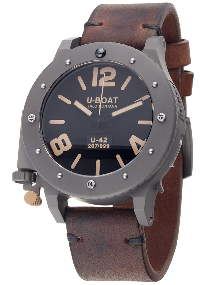 U-Boat U-42 47mm 6471 Ceas Barbatesc Automatic