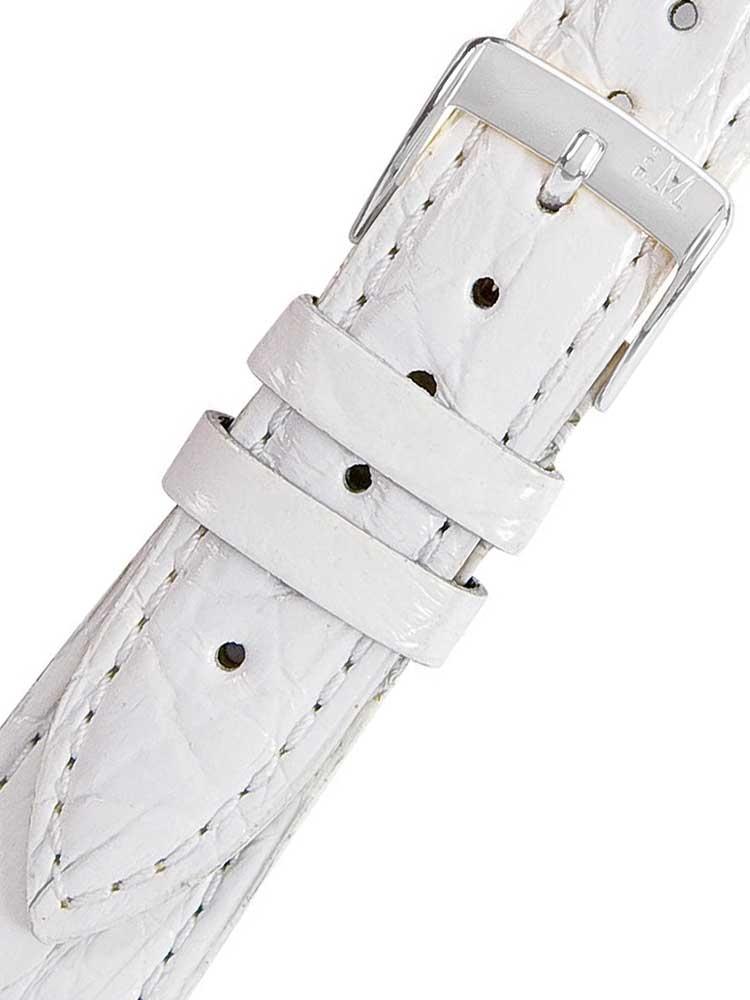 Morellato A01X2197052017CR20 alb Crocodile curea de piele 20mm